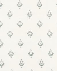 Small Print Floral Fabric  Ponderosa Pine Fountain