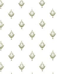 Silver Small Print Floral Fabric  Ponderosa Pine Zinc