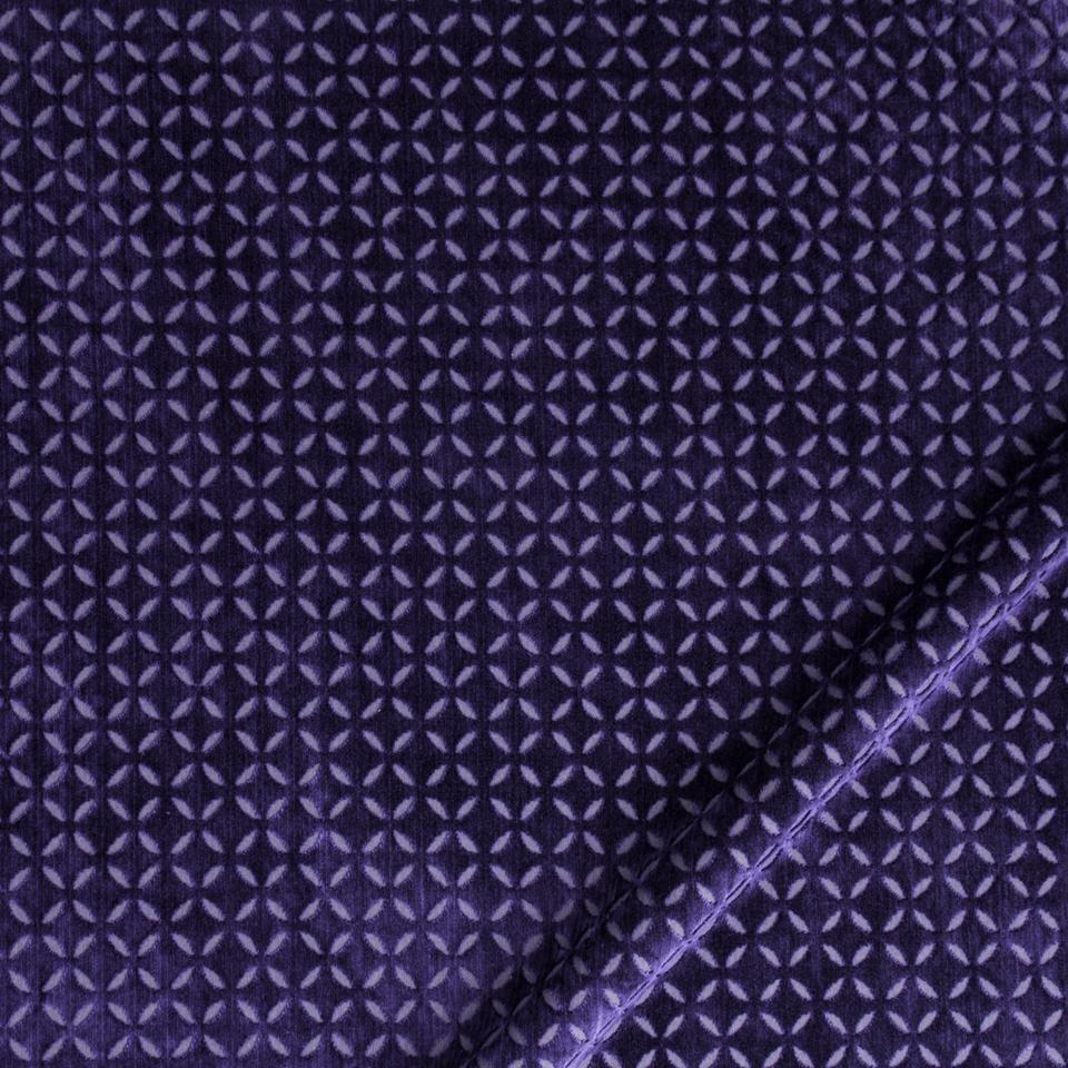 Robert Allen Fabrics Plush Star Royal Purple