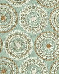 Suzani Fabric  Circle Art Spa