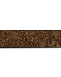 Cuir Leaf Border Bronze by