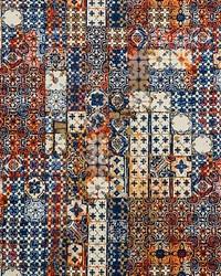 Azulejos Tapestry Mandarine by