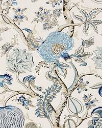 Pondicherry Linen Print Delft by