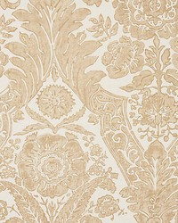 Luciana Damask Print Sand by