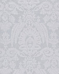 Lia Damask Sheer Snow by