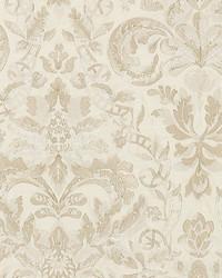 Elizabeth Damask Embroidery Alabaster by