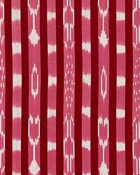 Jakarta Ikat Stripe Raspberry by