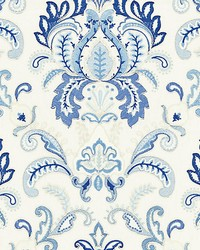 Ava Damask Embroidery Porcelain by
