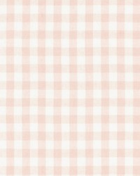 Swedish Linen Check Blush by