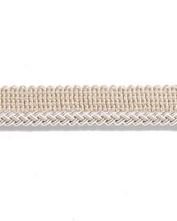 Beige Scalamandre Trim and Tassels - Fringe Scalamandre Trim Georgica Braided Cord Linen