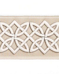 Celtic Embroidered Tape Linen by
