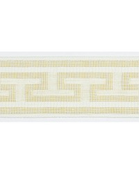 Ariadne Epingle Tape Ivory by  Scalamandre Trim