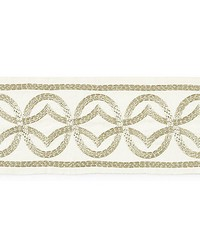 Athena Embroidered Tape Sand by
