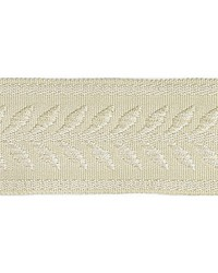 Beige Scalamandre Trim and Tassels - Fringe Scalamandre Trim Castaing Braid Cream