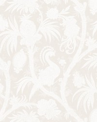 Balinese Peacock Alabaster by  Scalamandre Wallcoverings