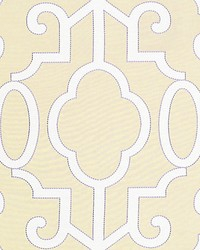Ming Fretwork Alabaster by  Scalamandre Wallcoverings