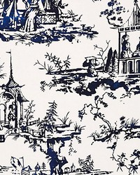 Summer Palace Porcelain by  Scalamandre Wallcoverings