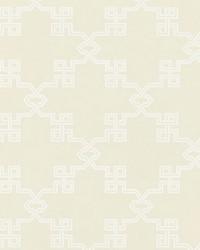 Suzhou Lattice Alabaster by  Scalamandre Wallcoverings