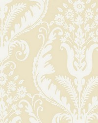 Primavera Alabaster by  Scalamandre Wallcoverings