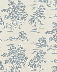 Katsura Embroidered Toile Sky by