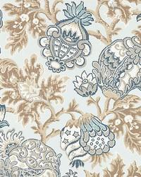 Canterbury Linen Print Sky by