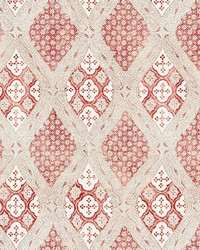 Farrah Print Coral Spice by