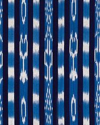Jakarta Ikat Stripe Indigo by