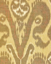 Bukhara Silk Ikat Spice by