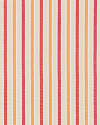 Leeds Cotton Stripe Coral by