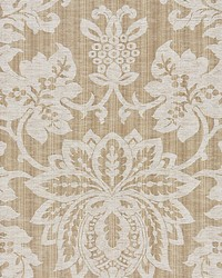 Metalline Damask Flax by