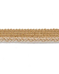 Beige Scalamandre Trim and Tassels - Fringe Scalamandre Trim Georgica Braided Cord Camel