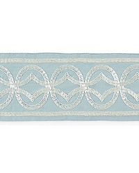 Athena Embroidered Tape Sky by  Scalamandre Trim