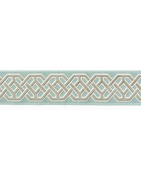 Beaufort Velvet Tape Aquamarine by  Scalamandre Trim