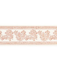 Citra Block Print Tape Coral Spice by