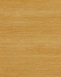 Textured Sisal Saffron by  Scalamandre Wallcoverings
