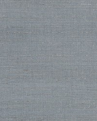 Silver Sisal Steel by  Scalamandre Wallcoverings
