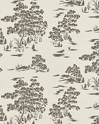 Katsura Embroidered Toile Bark by