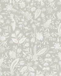 Tulia Linen Print French Grey by