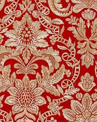Elizabeth Damask Embroidery Carnelian by