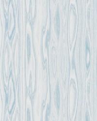 Faux Bois Weave Blue Ice by