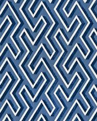 Maze Velvet Cobalt by