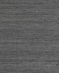 Metal Sisal Pewter by  Scalamandre Wallcoverings