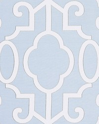 Ming Fretwork Cloud by  Scalamandre Wallcoverings