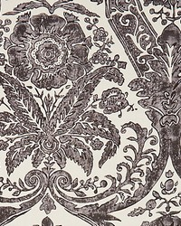 Luciana Damask Print Graphite by