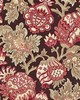 Scalamandre CANTERBURY LINEN PRINT MULBERRY