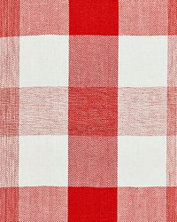 Westport Linen Plaid Coral by