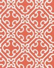 Scalamandre AILIN LATTICE WEAVE CORAL
