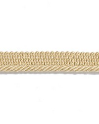Yellow Scalamandre Trim and Tassels - Fringe Scalamandre Trim Millstone Twisted Cord Straw