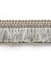 Shimmer Brush Fringe Silver Grey by