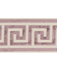 Greek Key Velvet Tape Amethyst by
